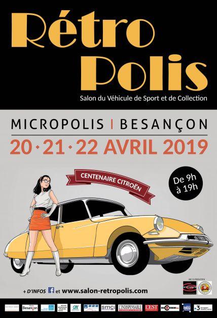 Affiche Rétropolis 2019