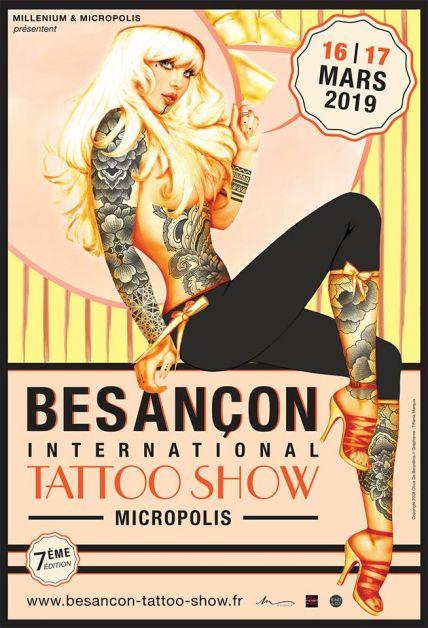 Salon Du Tatouage Besancon