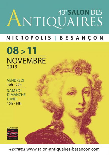 Salon des Antiquaires 2019 Micropolis